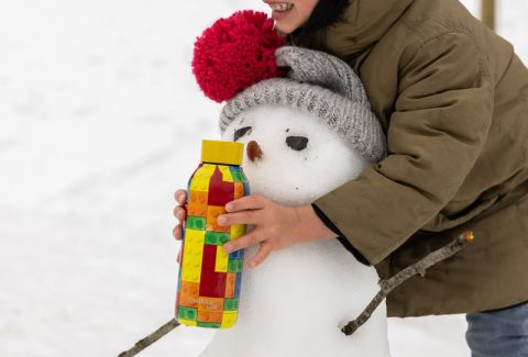 wintersneeuwpop